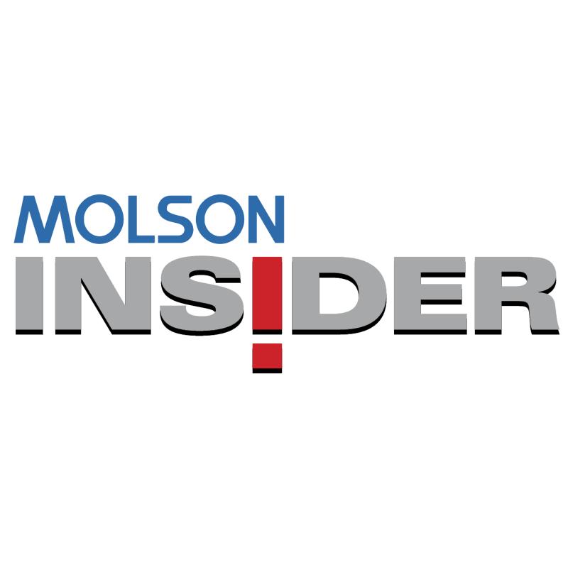 Molson Insider vector