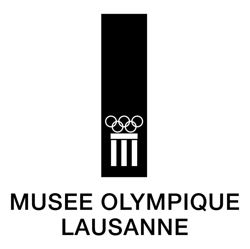 Musee Olympique Lausanne vector