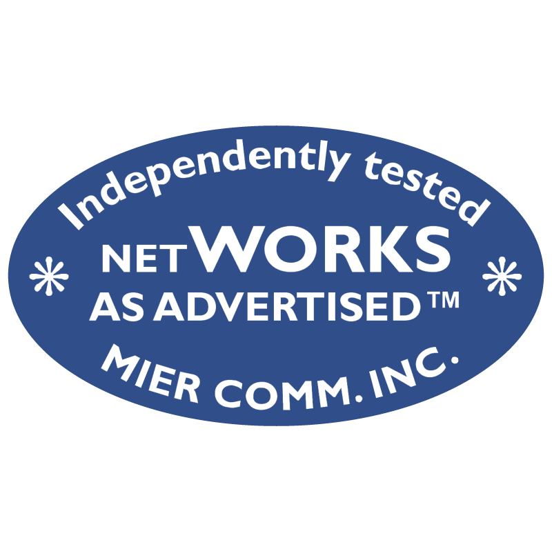 NetWorks as Advertised vector