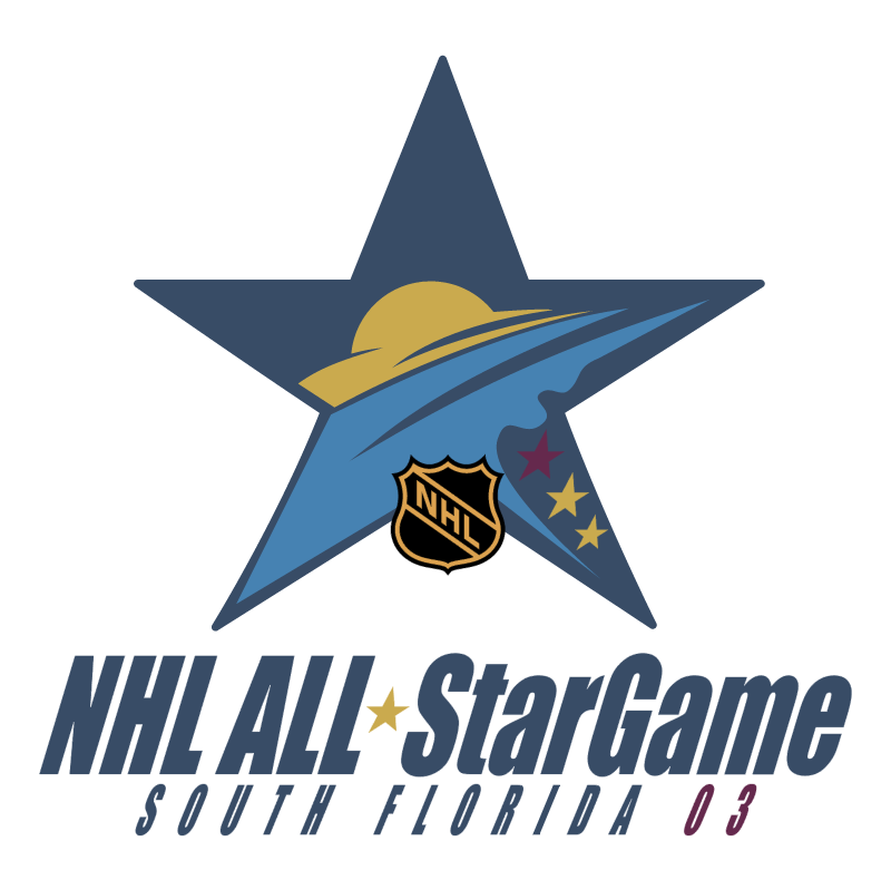NHL All Star Game 2003 vector