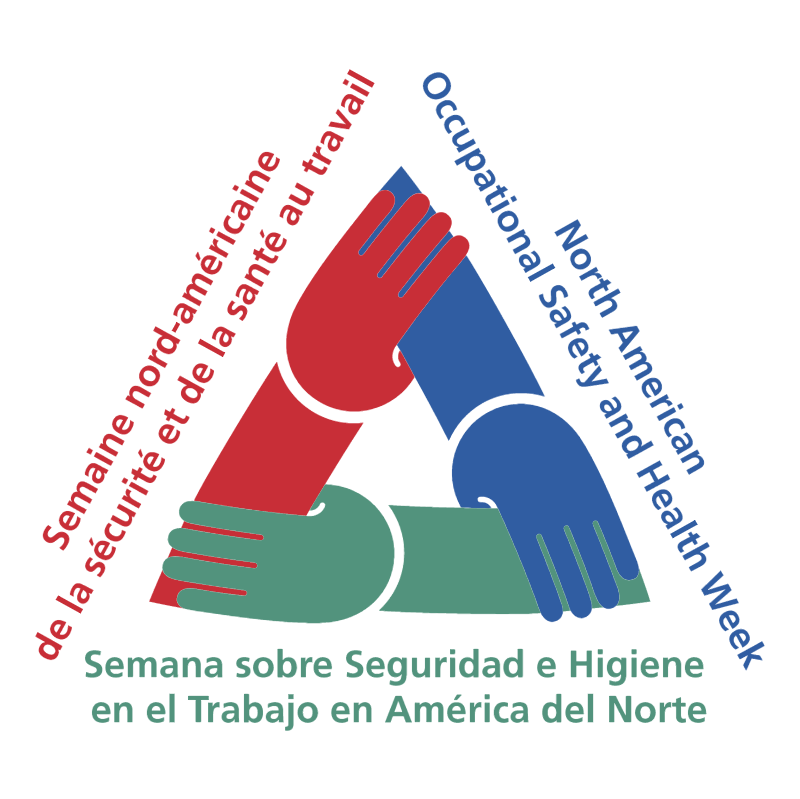 North American Occupational Safety and Health Week vector logo