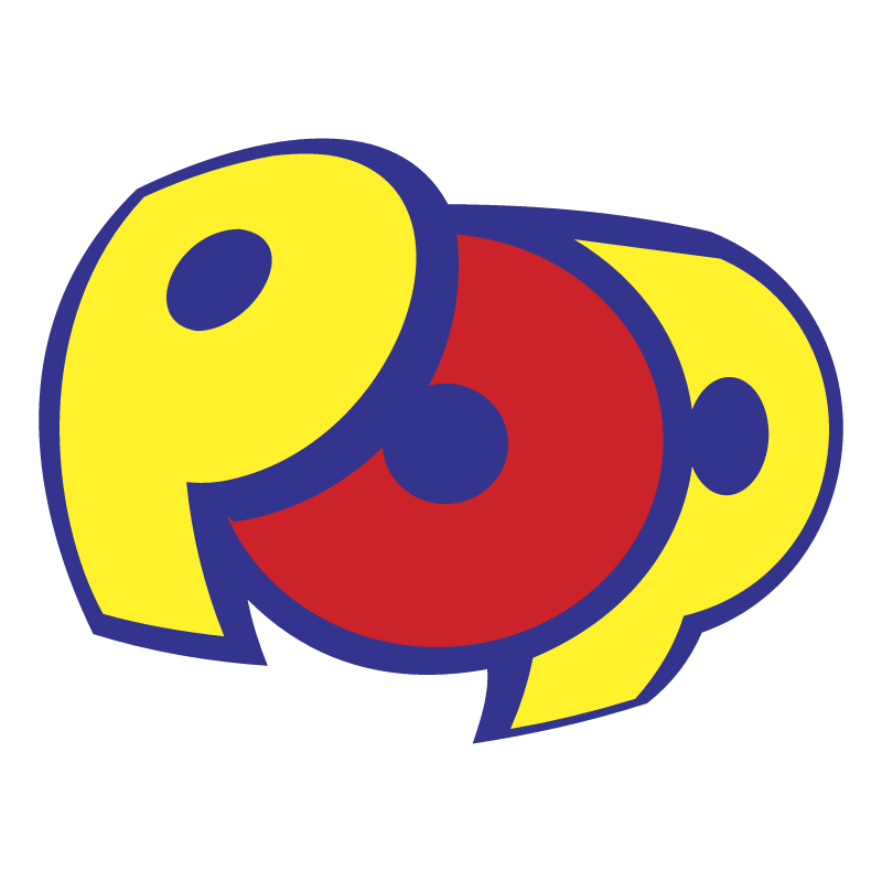 Pop vector logo
