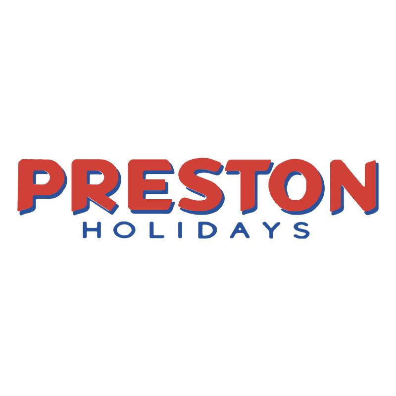 Preston Holidays vector