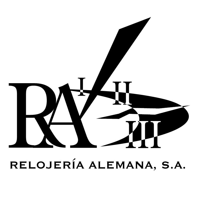 R A Relojer a Alemana vector