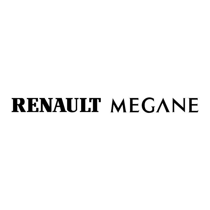 Renault Megane vector