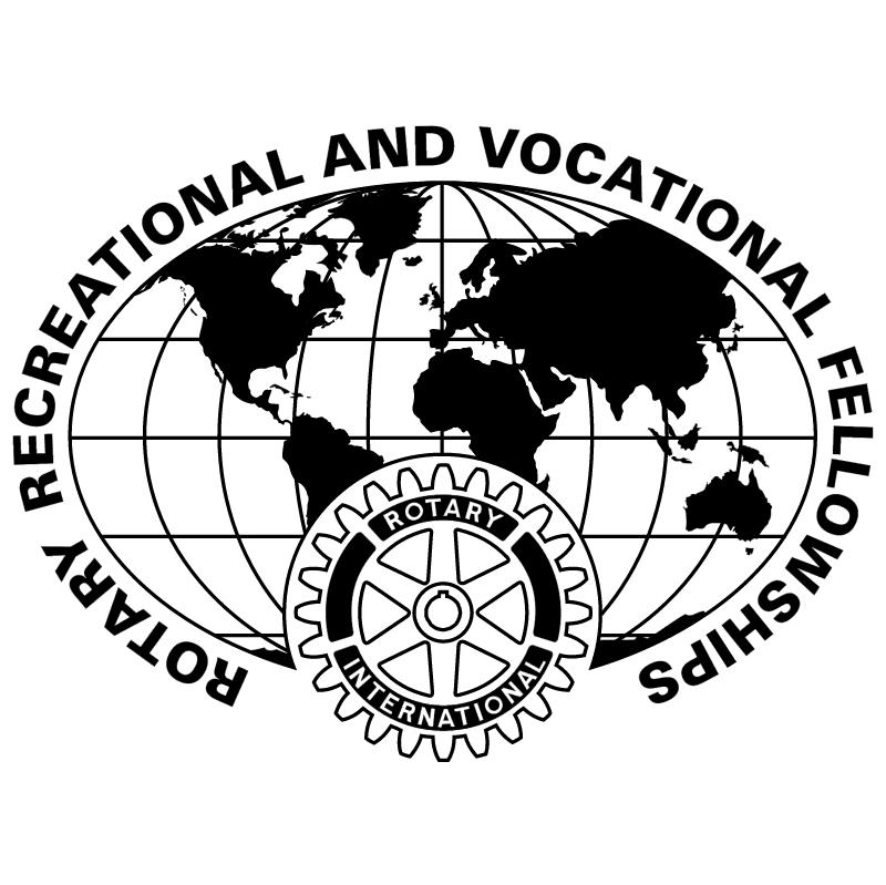 Rotary Recreational Vocational Fellowships vector