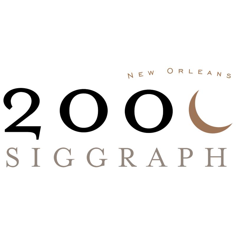 Siggraph 2000 vector