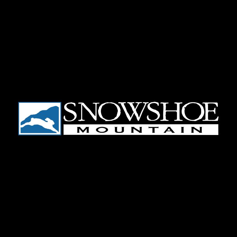 Snowshoe Mountain vector logo