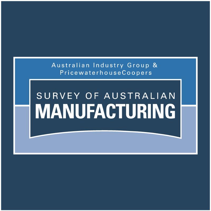 Survey Of Australian Manufacturing vector