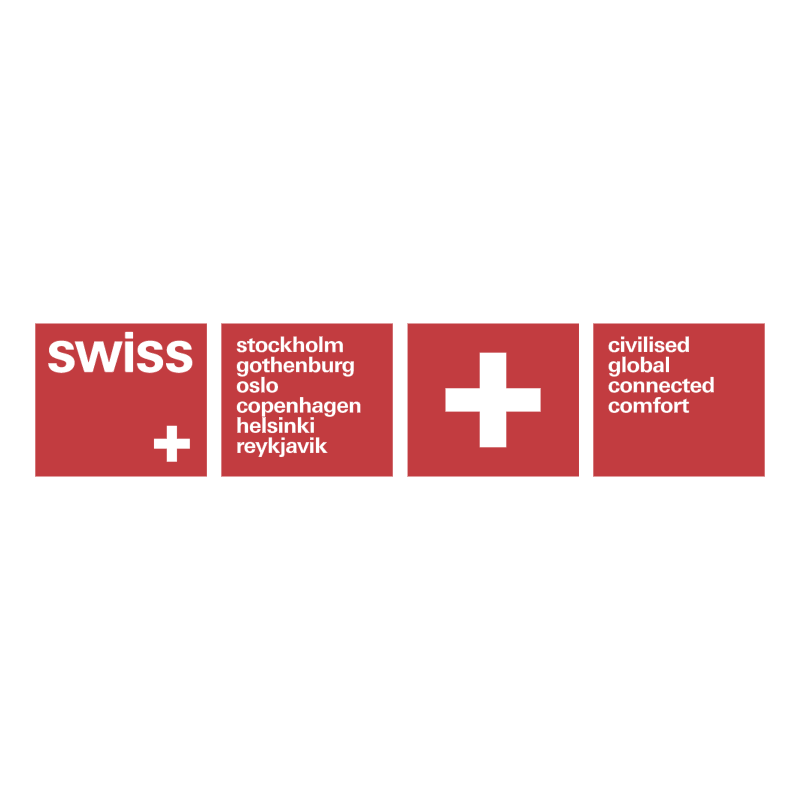Swiss Air Lines vector