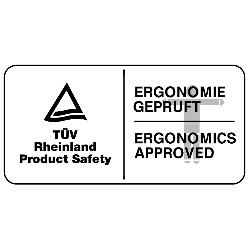 TUV Ergonomics vector