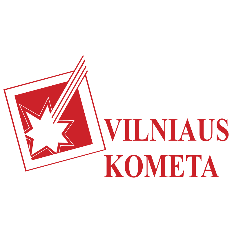 Vilniaus Kometa vector logo