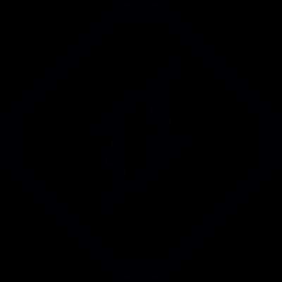 Lightning bolt Sign vector logo