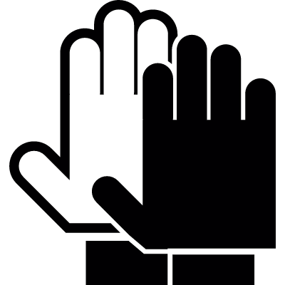 Gloves vector logo