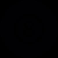 Billiard Eight ball vector