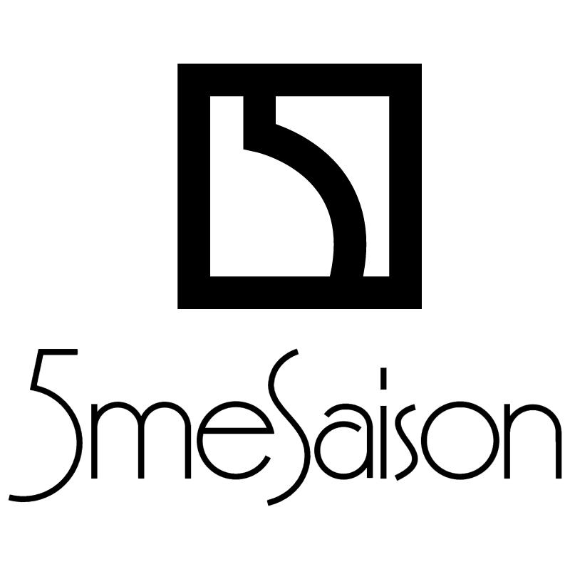 5 me Saison vector