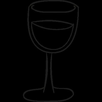 Cup doodle vector logo