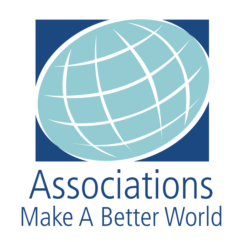 Associations Make A Better World vector