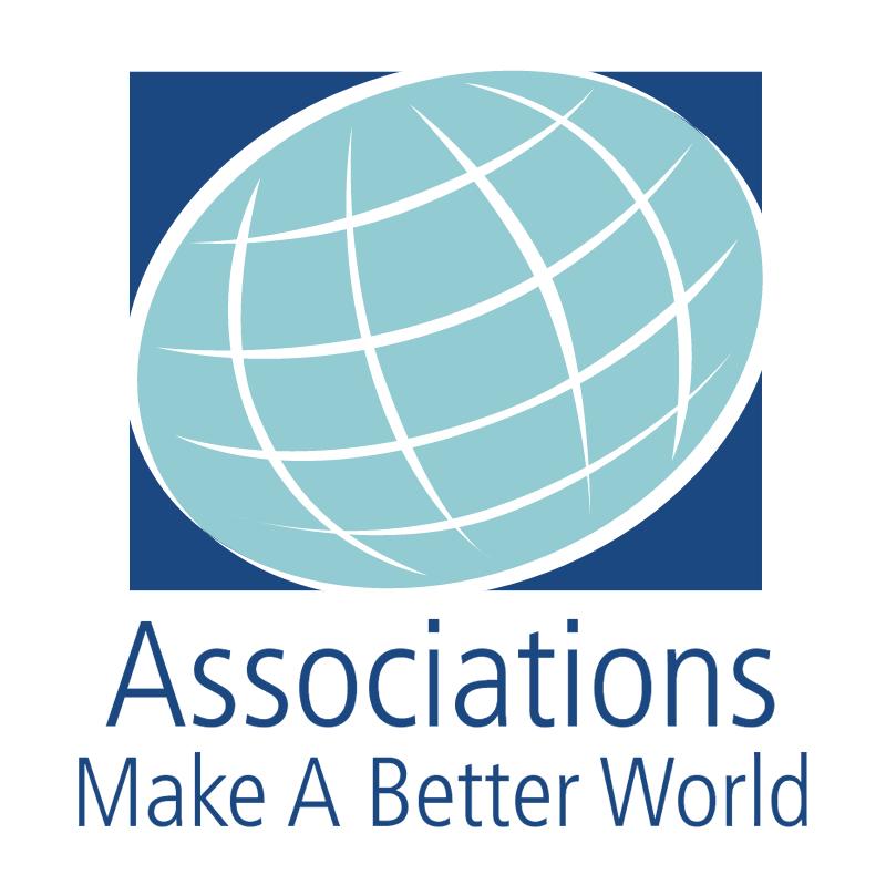 Associations Make A Better World vector