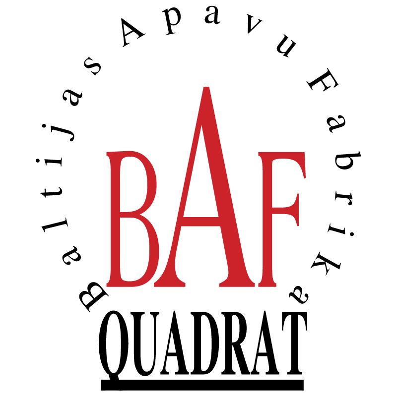 BAF Quadrat 23941 vector