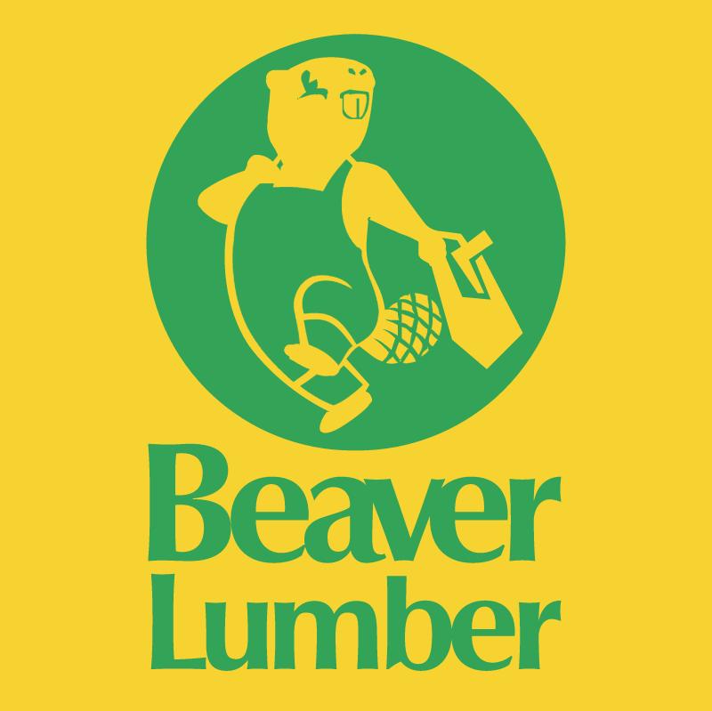Beaver Lumber vector