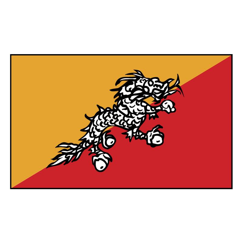 Bhutan 68860 vector
