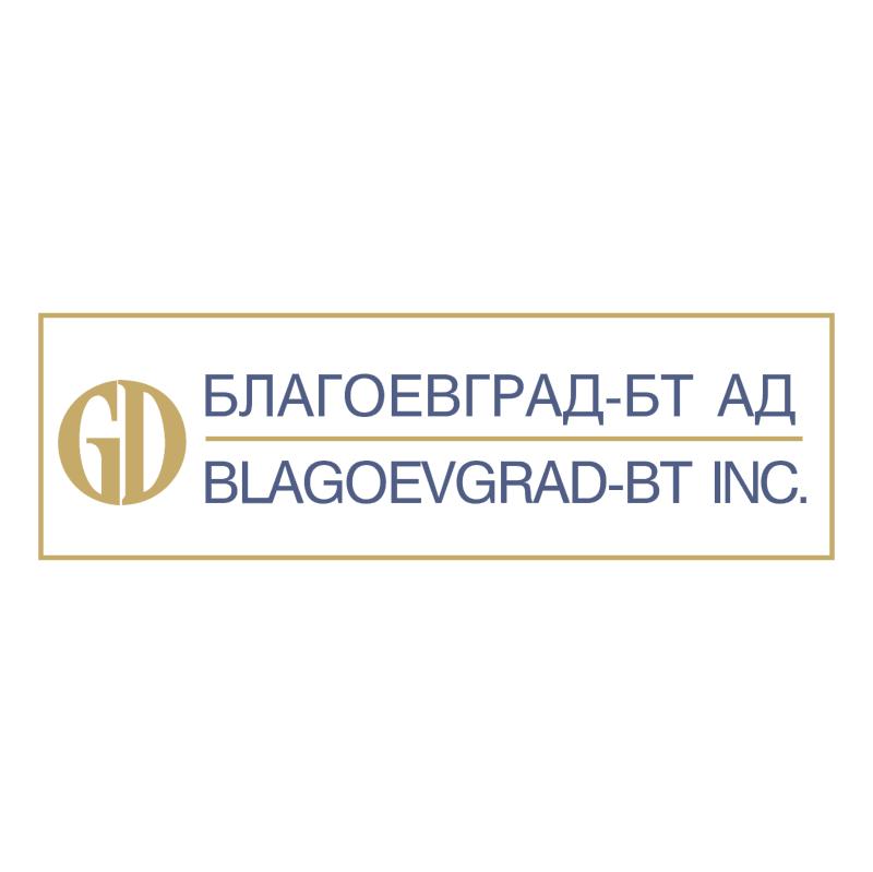 Blagoevgrad BT vector