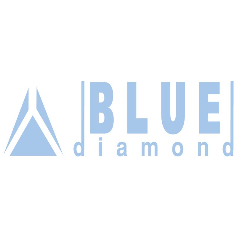 Blue Diamond vector