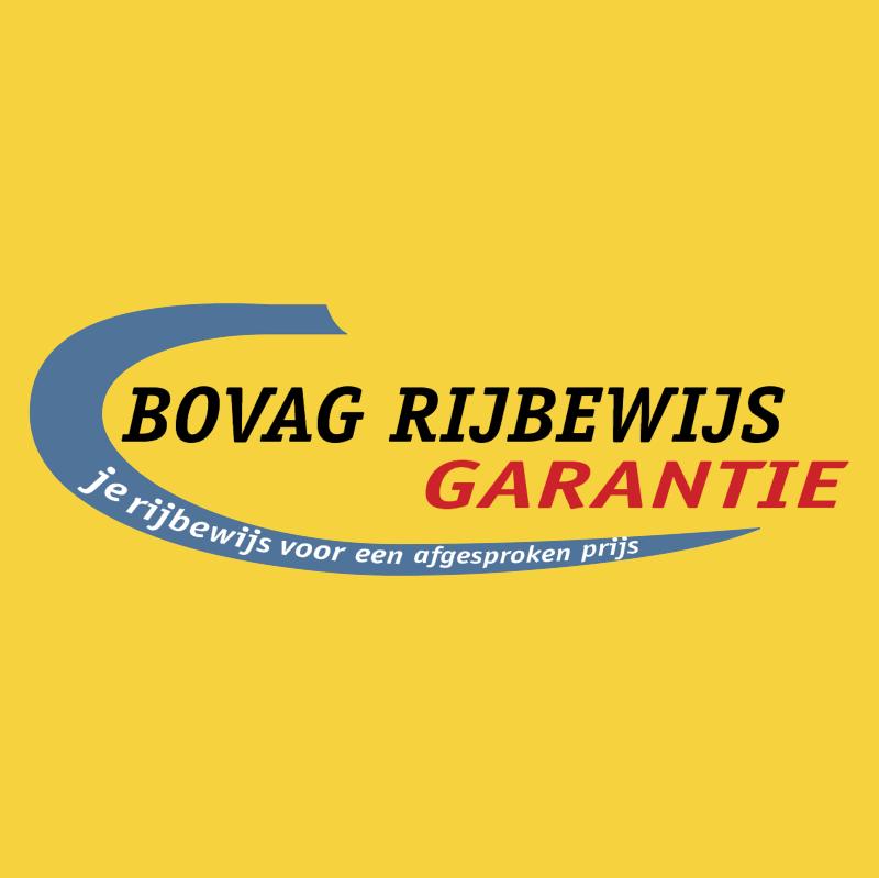 BOVAG Rijbewijs Garantie vector