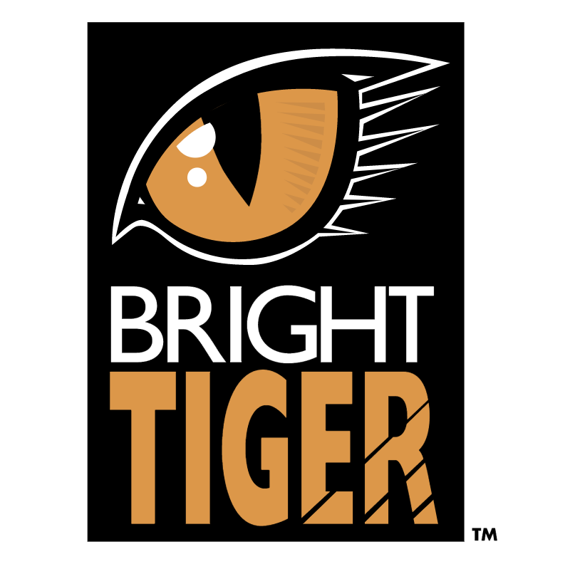 Bright Tiger vector
