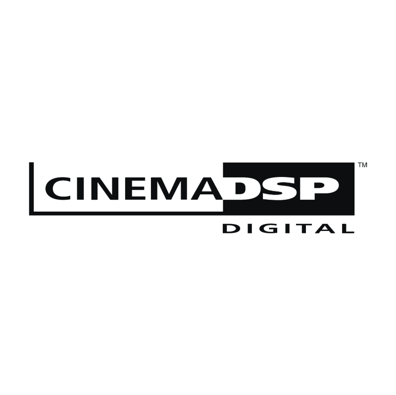 Cinema DSP Digital vector