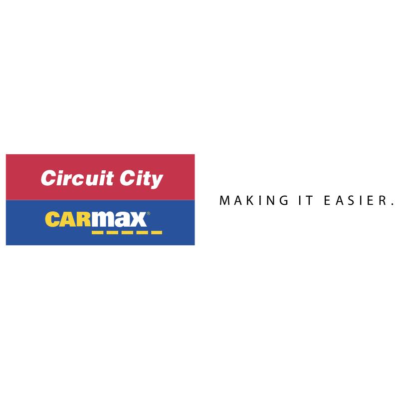 Circuit City CarMax vector