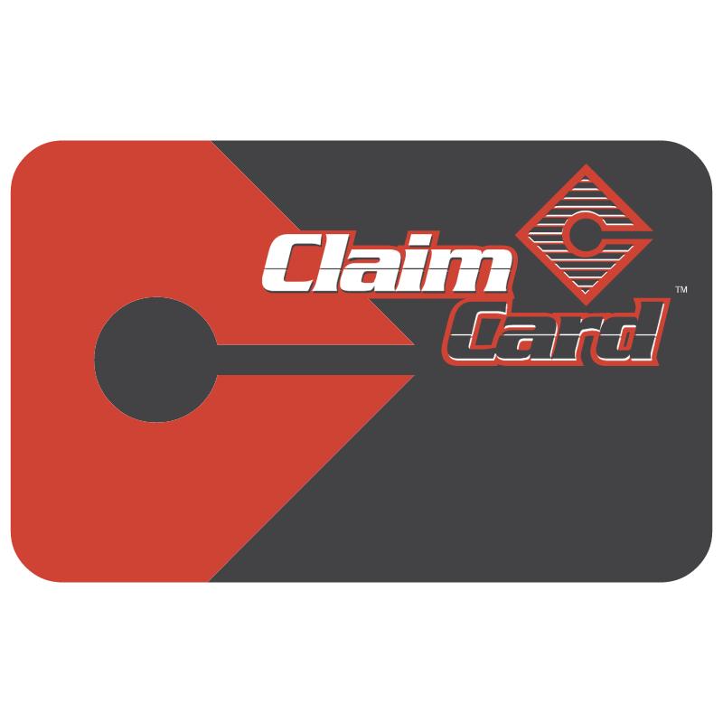 Claim Card vector