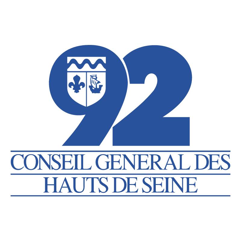 Conseil General Des Hauts De Seine 92 vector logo
