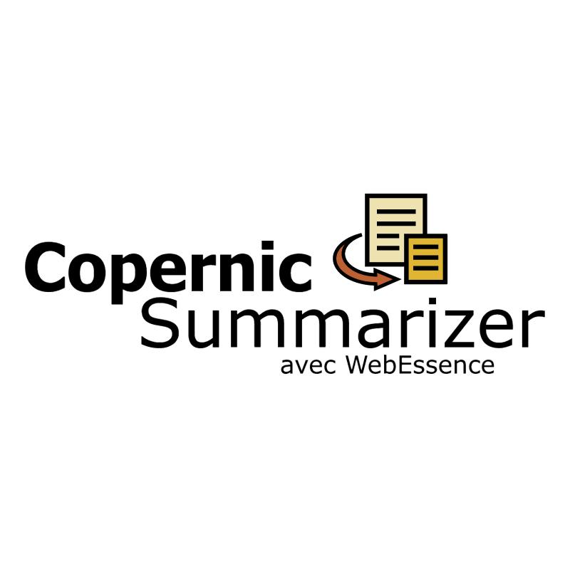 Copernic Summarizer vector