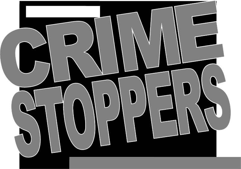 crime stoppers vector logo