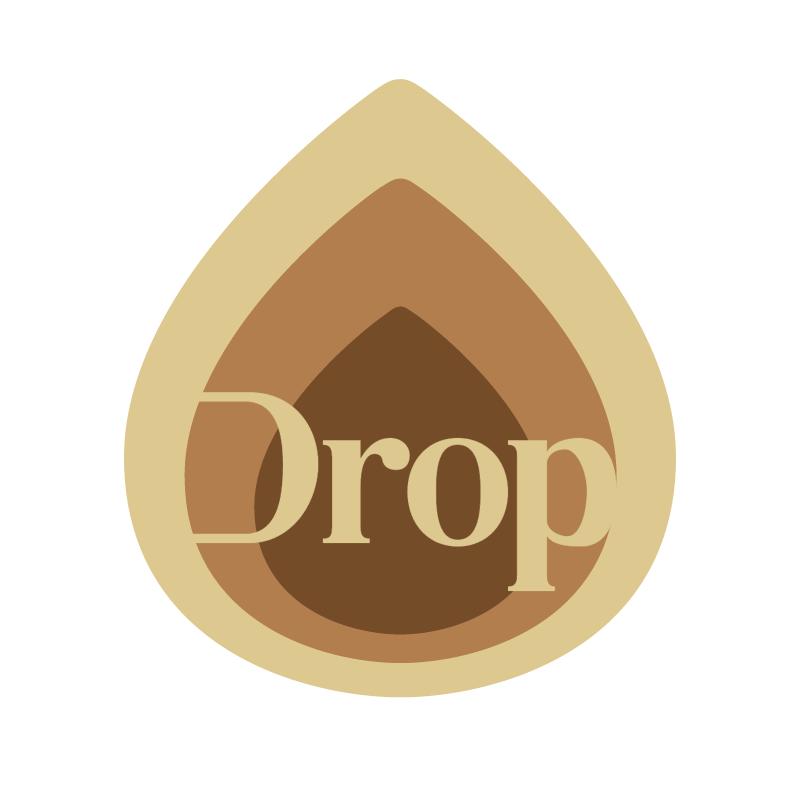 Drop vector logo