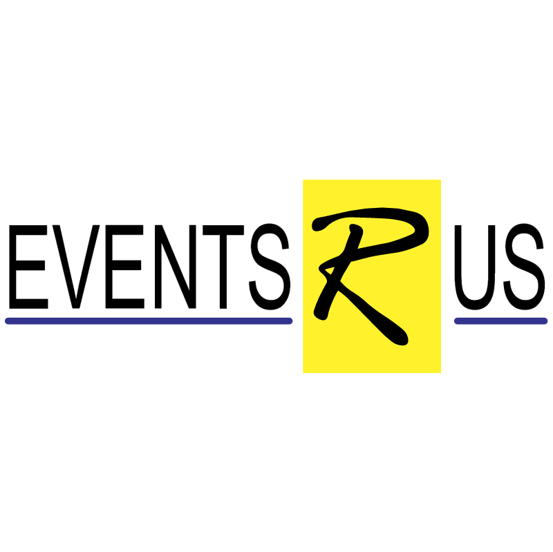 Events R Us vector