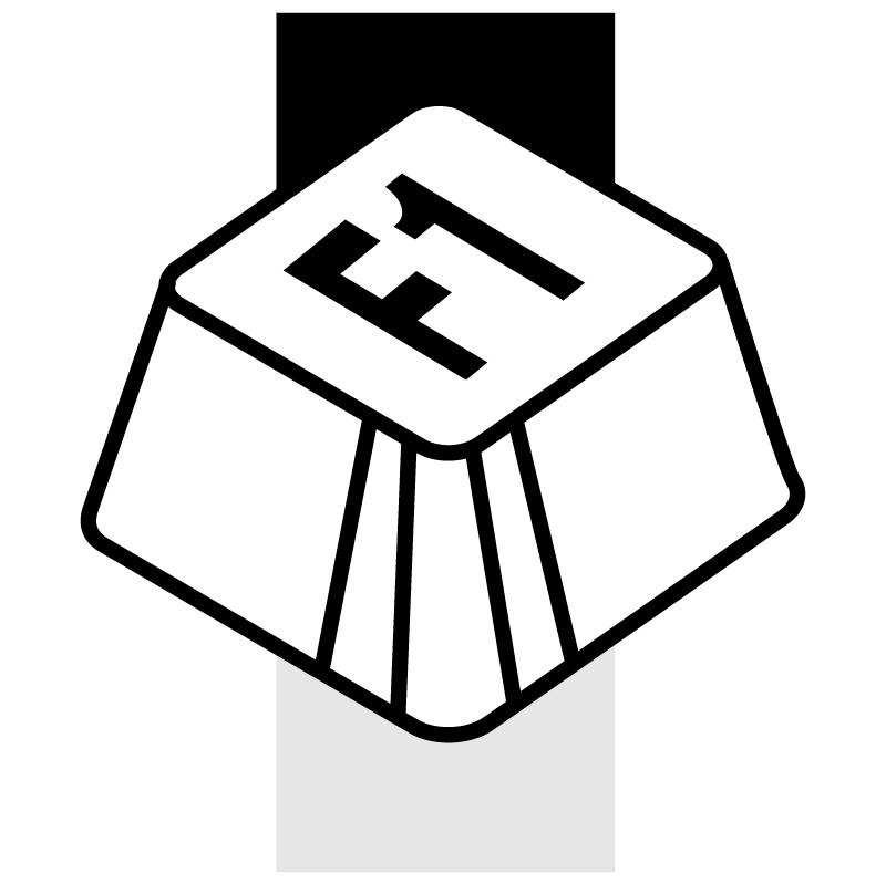 F1 vector logo