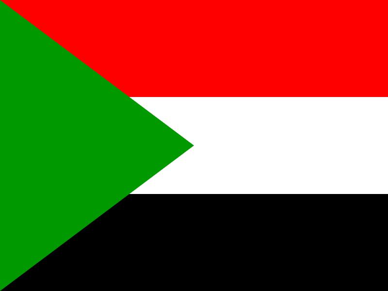 Flag of Sudan vector logo