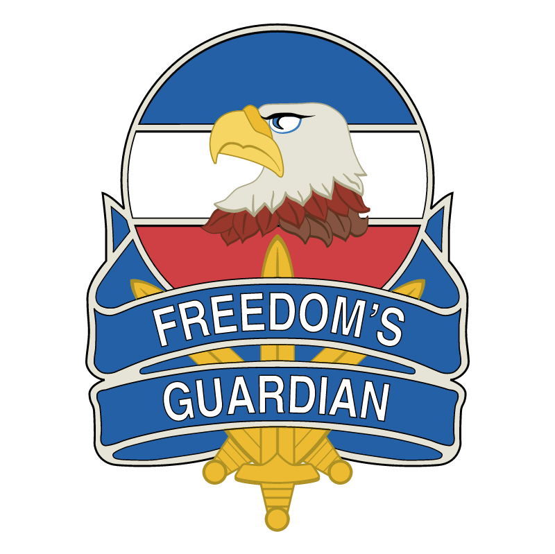 Freedom's Guardian vector logo