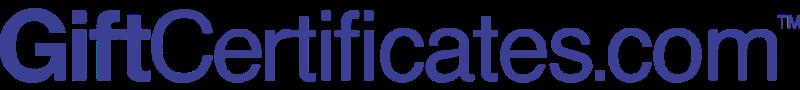 GIFTCERTIFICATES DOT COM vector logo