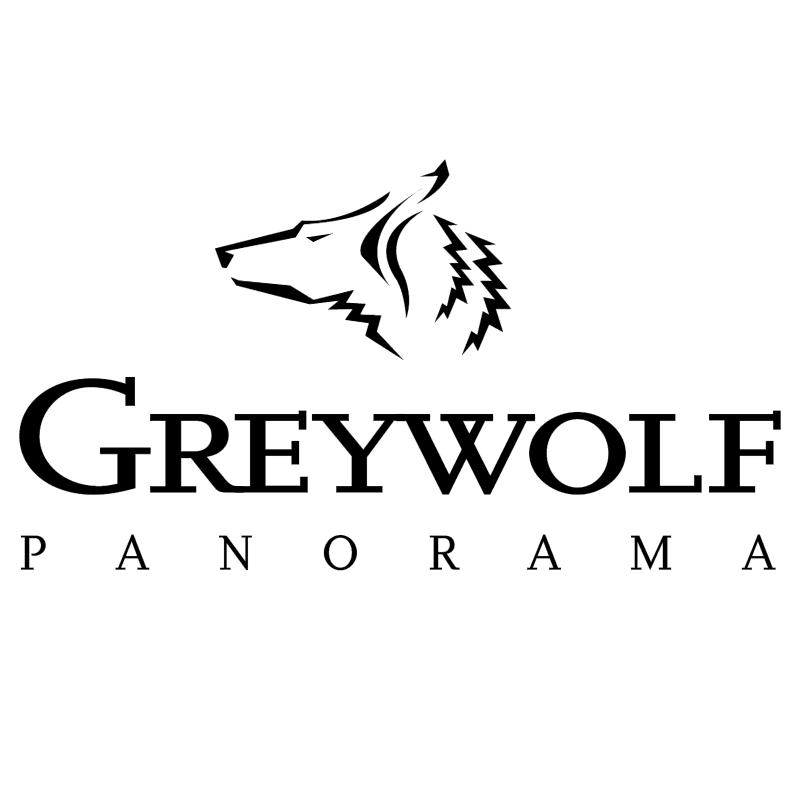 Greywolf Panorama vector logo
