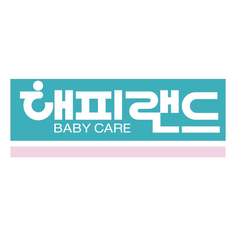 Happy Land Baby Care vector