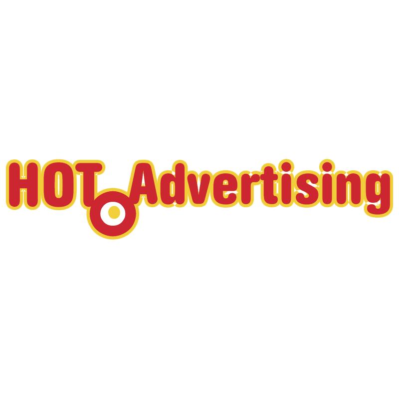 Hot Advertising vector