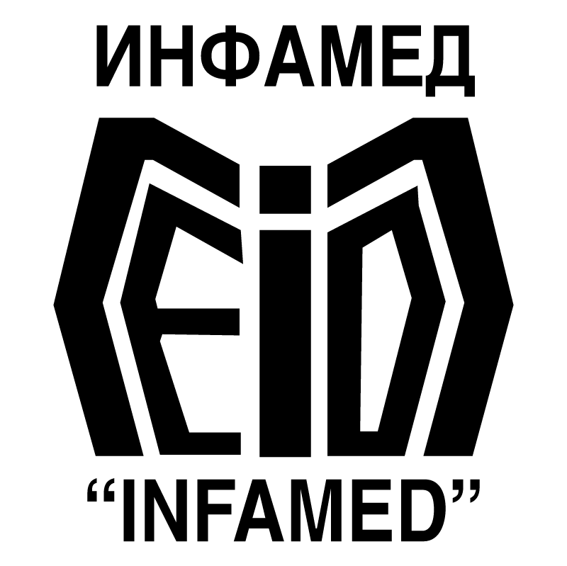 Infamed vector logo