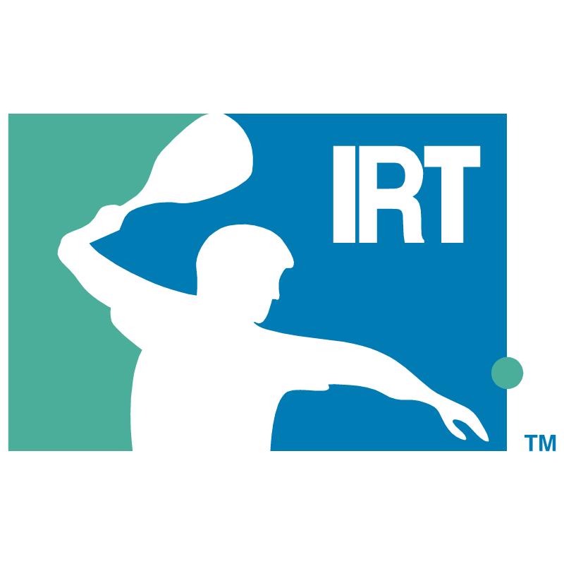IRT International Racquetball Tour vector logo