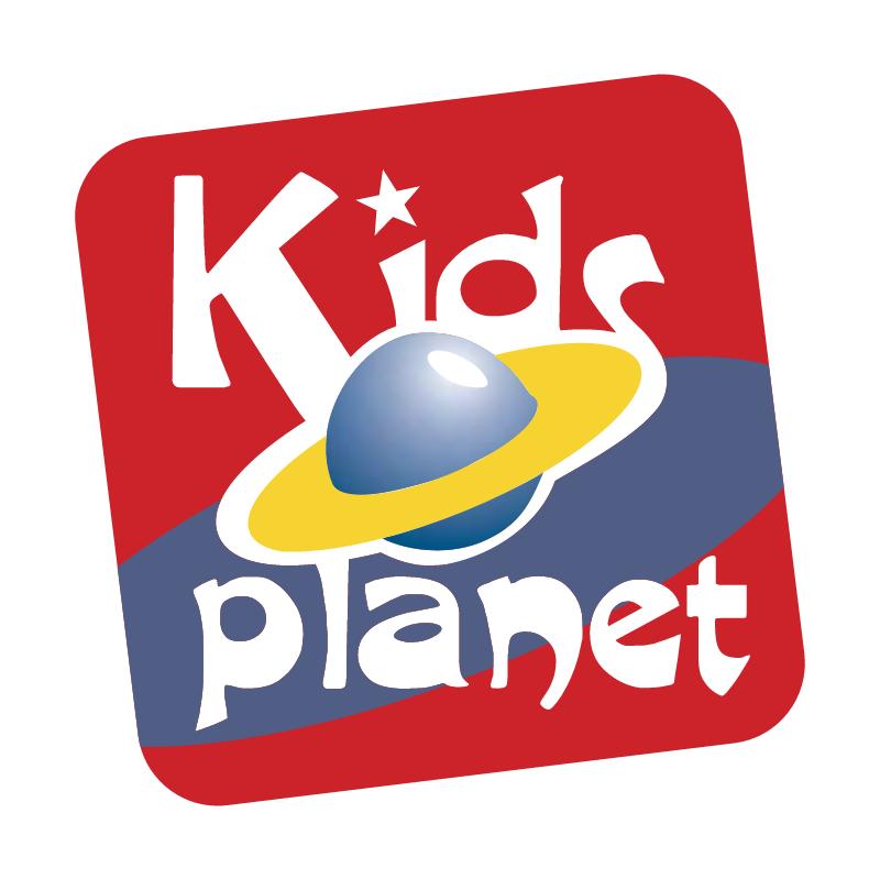 Kids Planet vector logo