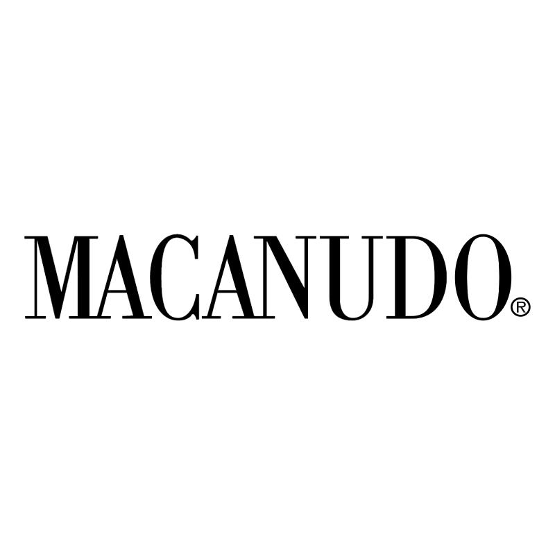 Macanudo vector logo