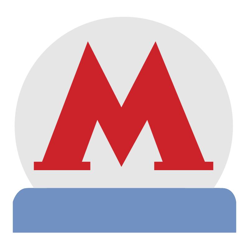 Metro Moscow vector